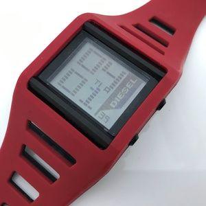 Diesel Men Watch Digital Sport Wrist Watch Red
